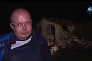 """Polski ksiądz czekał kilka godzin pod gruzami na pomoc. """"To wielki cud. Moi sąsiedzi zginęli..."""""""