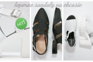 Toporne sanda�y na obcasie- super wygodne i modne buty tego seozonu