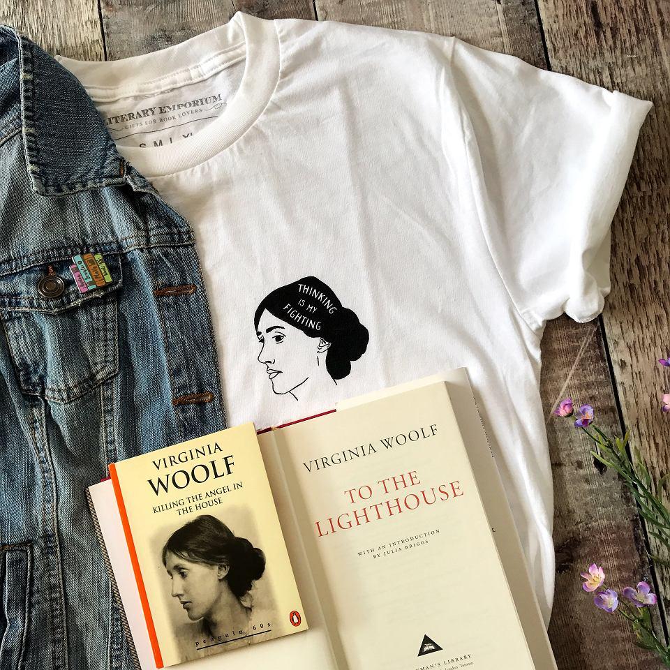 Koszulka z Virginią Woolf