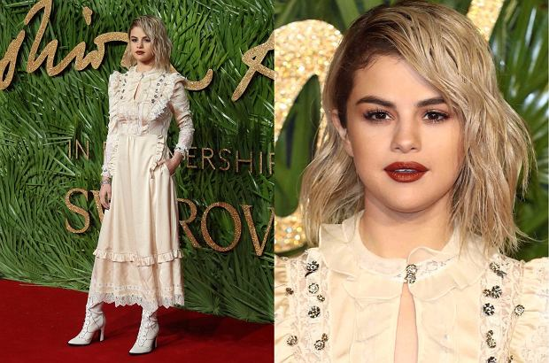 Selena Gomez na gali British Fashion Awards 2017
