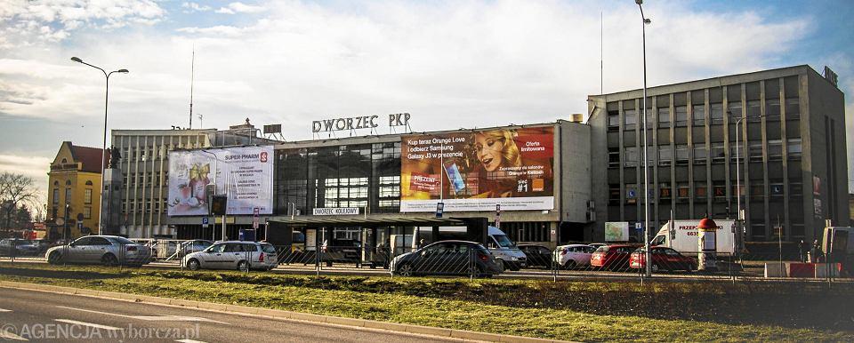 Kielce, dworzec kolejowy
