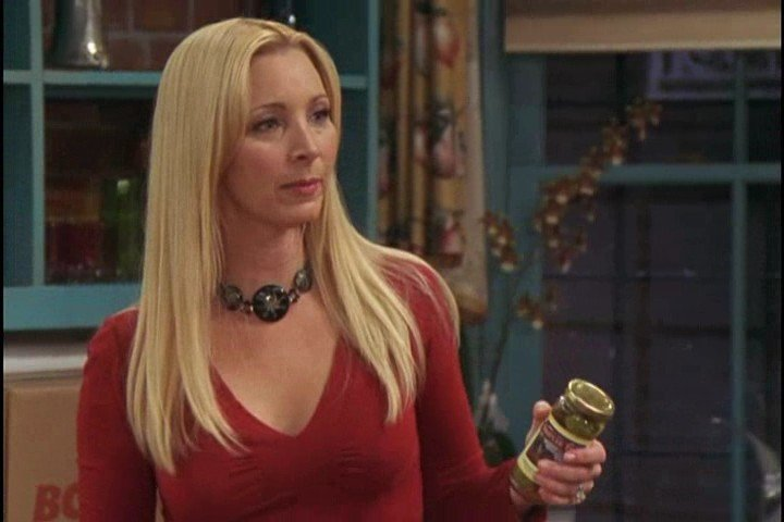 Lisa Kudrow jak Phoebe Buffay