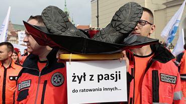 Protest służby zdrowia