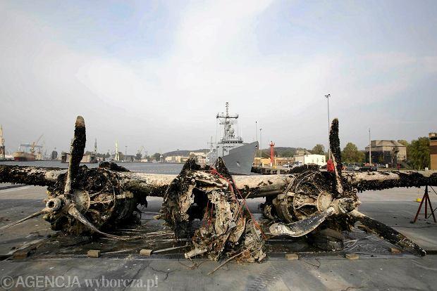 Spektakularna akcja. Z dna Ba�tyku wydobyto samolot Douglas A-20. Le�a� w morzu 70 lat [ZDJ�CIA]