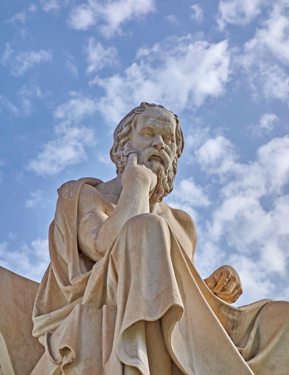 Pomnik Sokratesa w Atenach