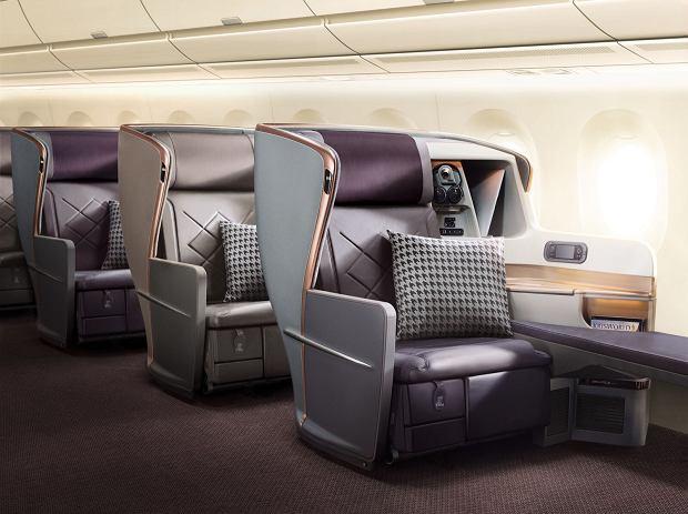 Klasa Biznes. Singapore Airlines