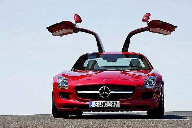 Mercedes SLS AMG CDI