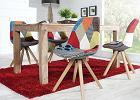 Modne, kolorowe krzesła - HIT tego roku [CENY MODELI]