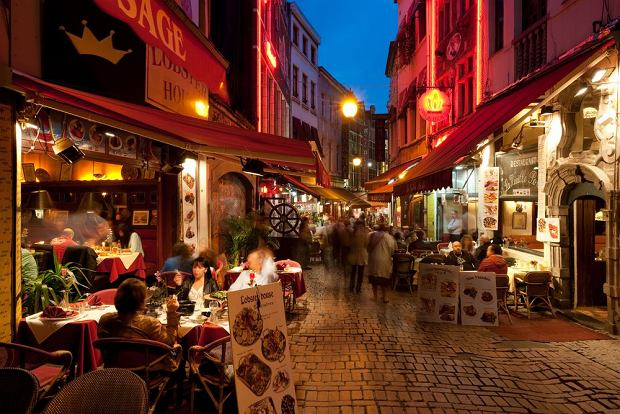 Brussels Cafes Restaurants
