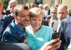 Angela Merkel wśród uchodźców