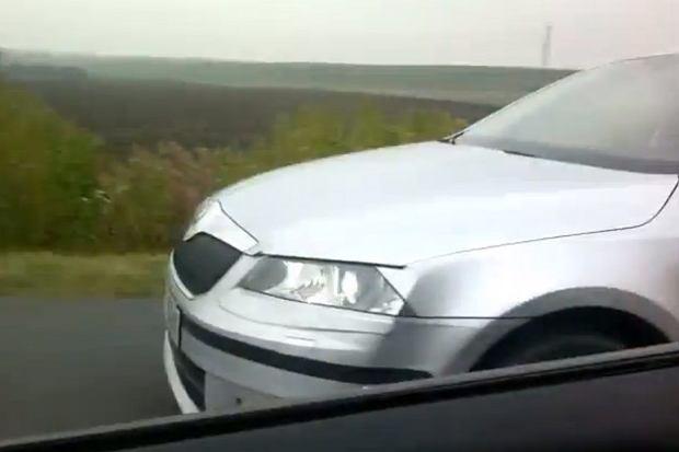 Nowa Skoda Octavia na kolejnym filmiku