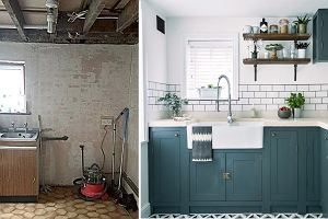 Stylowa metamorfoza małej kuchni
