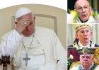 Papież Franciszek, André-Joseph Léonard, Sean Brady, Bernard Law