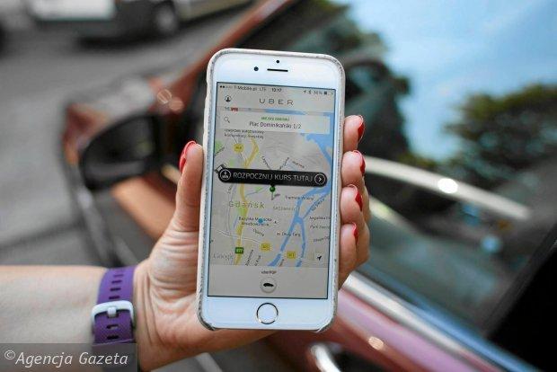 Uber w telefonie