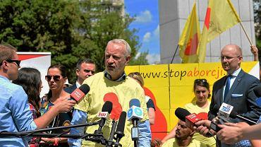 Mariusz Dzierżawski z fundacji ''Pro-prawo do życia''