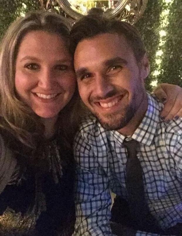 Chris Wondolowski z żoną Lindsay