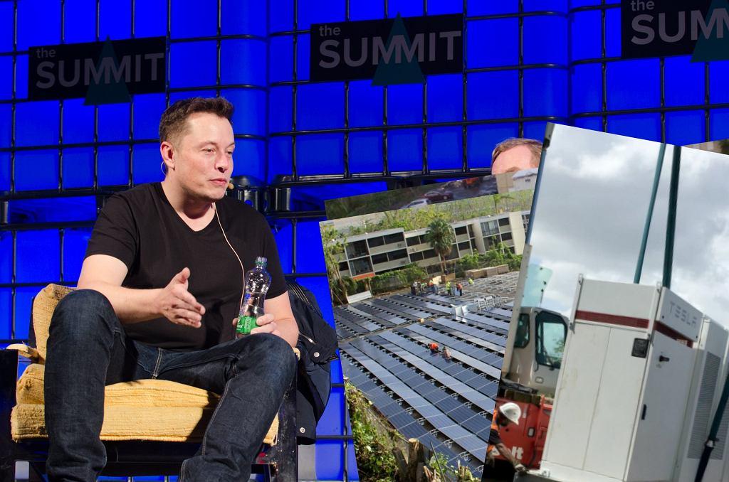 Elon Musk wspiera Portoryko
