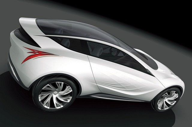 Mazda Kazamai Concept (2008)