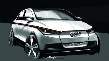 Koncept Audi A2 EV z 2011 roku
