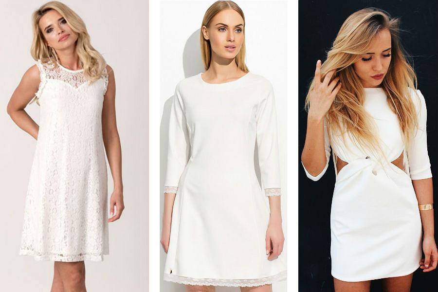 Sukienka écru Kreacja Idealna Na Wiele Okazji