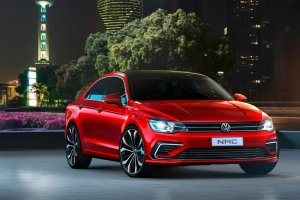 Salon Pekin 2014 | VW New Midsize Coupe Concept | Jetta CC