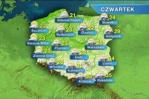 Burzowo w ca�ej Polsce. Ulewne deszcze i silny wiatr, w porywach do 100 km/h