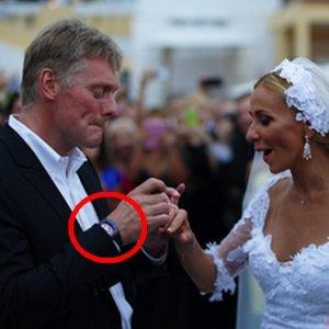 Pi�kna �ona rzecznika Putina. I NIEZIEMSKO drogi zegarek. Kosztuje...