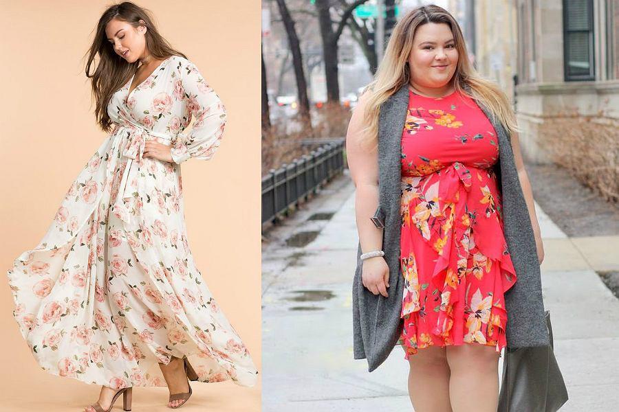 110bb9137b Kolorowe sukienki w rozmiarze plus size  idealne na lato