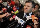 Janusz Piechociński podczas konferencji prasowej