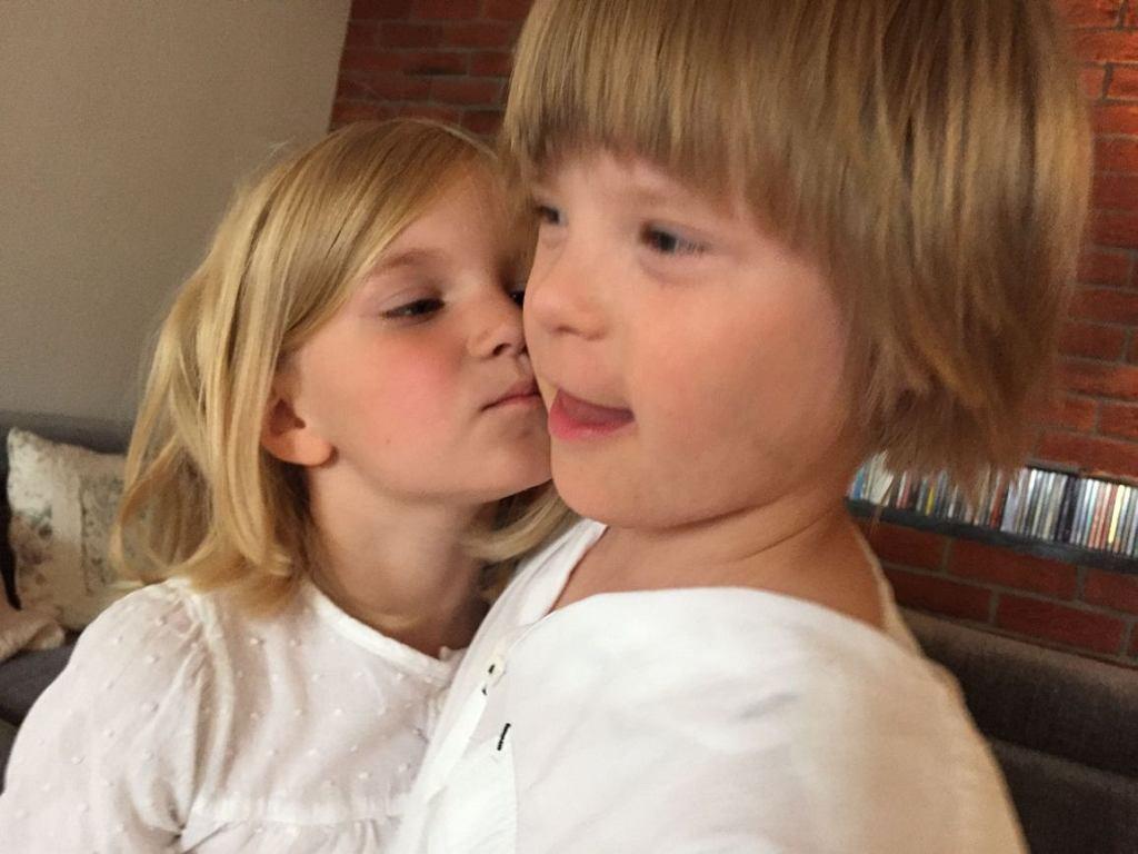 Ada i Krystian wychowują się razem (fot. archiwum prywatne)