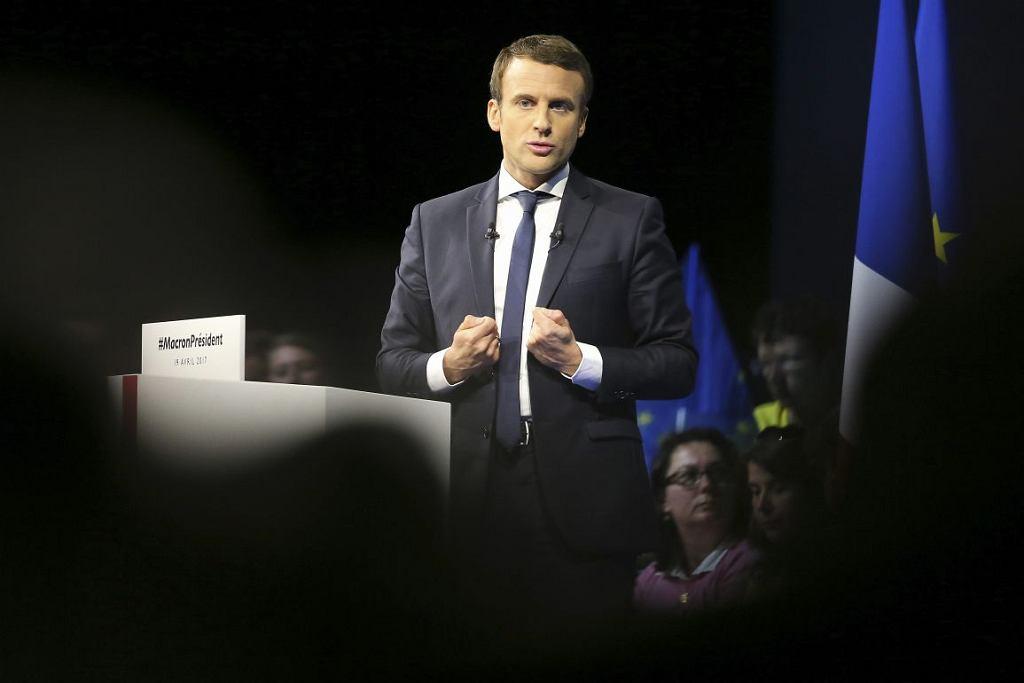 Emmanuel Macron (David Vincent/AP)