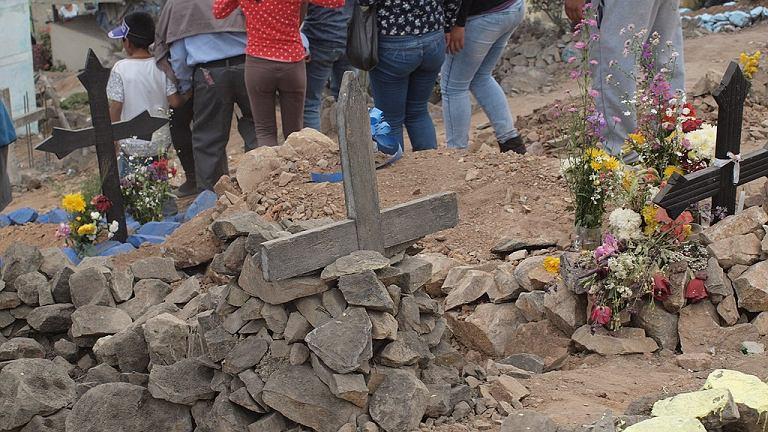 Pogrzeb w Peru