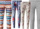 Kolorowe legginsy do marki Calzedonia - limitowana edycja