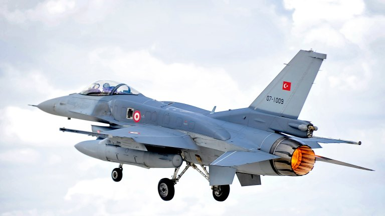 F-16 tureckich sił powietrznych