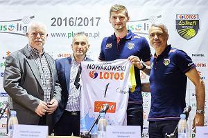 Piotr Nowakowski siatkarzem Lotosu Trefla. Magnesem trener Anastasi