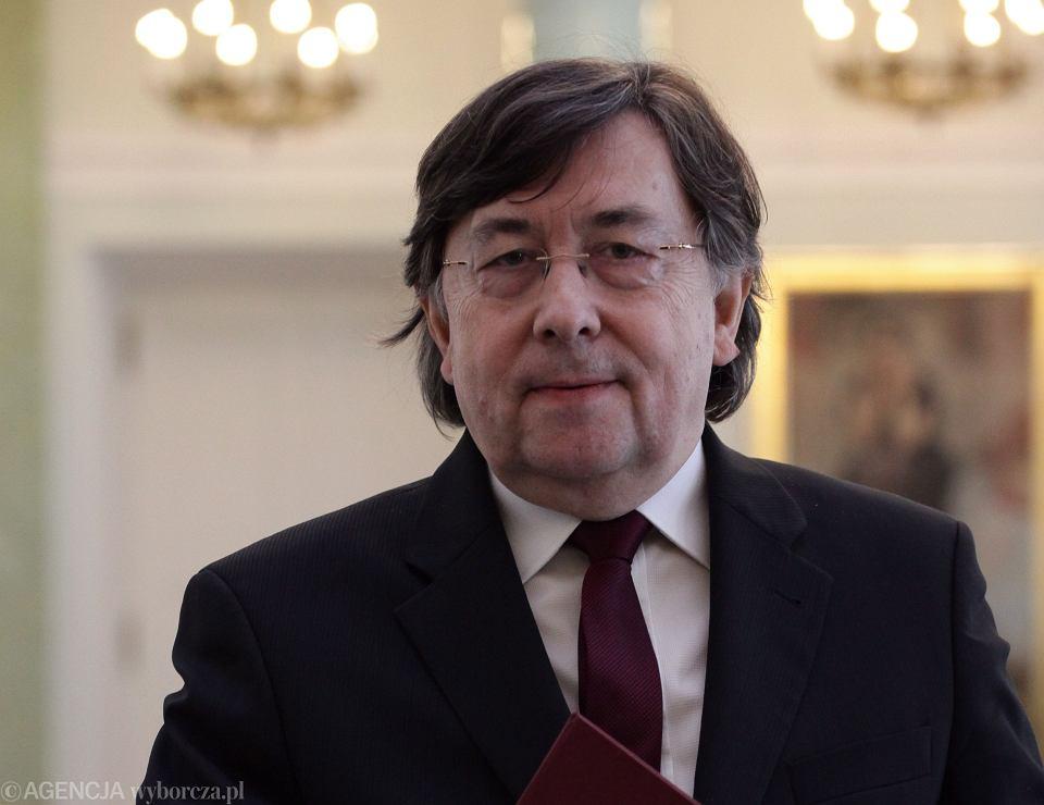Prof. Marek Zirk-Sadowski nowym prezesem NSA