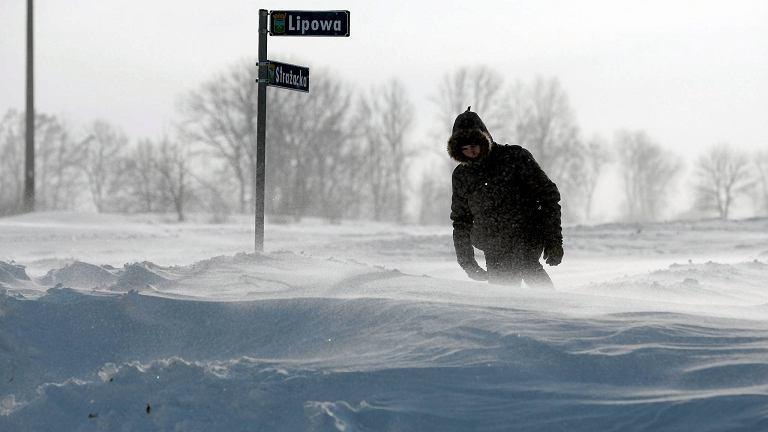 2014 r. Zima na Lubelszczyźnie