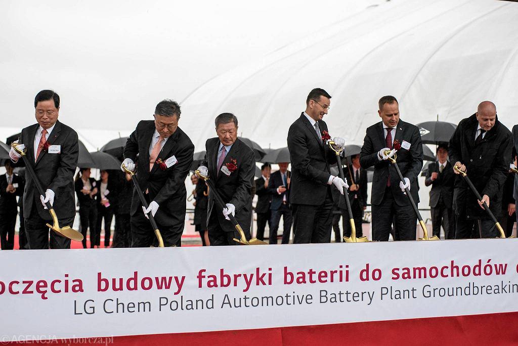 Otwarcie fabryki LG Chem pod Wrocławiem