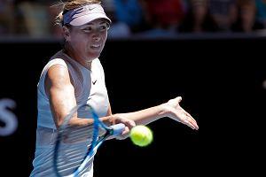 WTA Doha. Szarapowa odpadła w 1. rundzie, niespodzianka na kortach w Doha