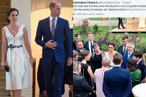 Księżna Kate i książę William, wpis na profilu Pałacu Kensington