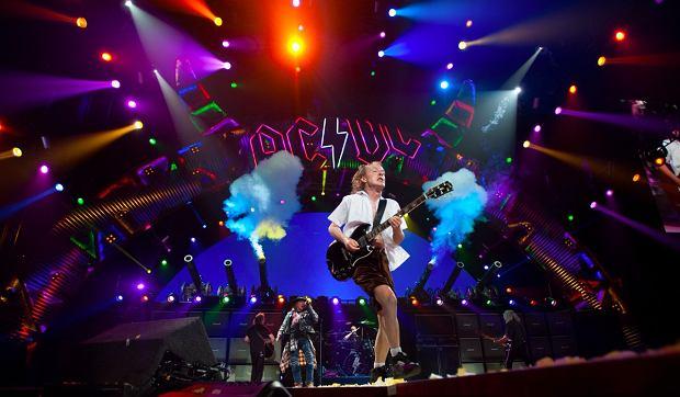 AC/DC podczas koncertu w Atlancie