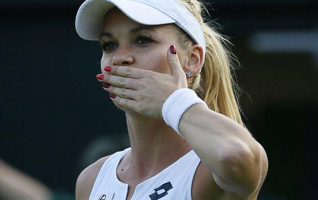 Wimbledon: Agnieszka Radwa�ska rozgromi�a rywalk�! Mecz trwa� mniej ni� godzin�