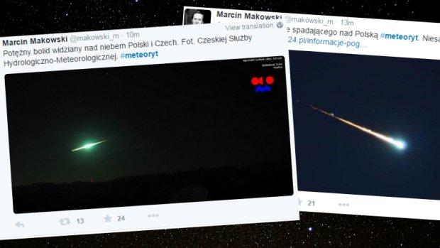 Meteoryt nad Polsk�