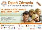 Uczelnia Łazarskiego zaprasza na Dzień Zdrowia