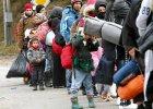 Uchod�cy na granicy austriacko-niemieckiej