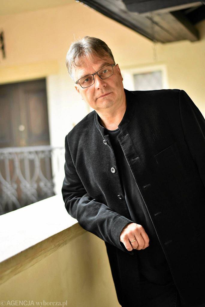 Jerzy Kornowicz, nowy dyrektor Warszawskiej Jesieni  / FRANCISZEK MAZUR