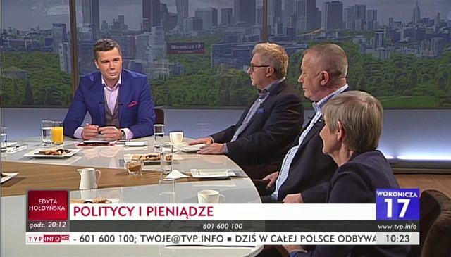 'Woronicza 17' to program Michała Rachonia w TVP Info