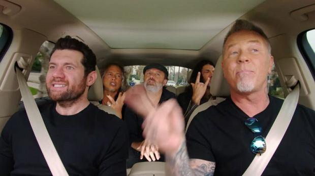 Metallica w 'Carpool Karaoke'