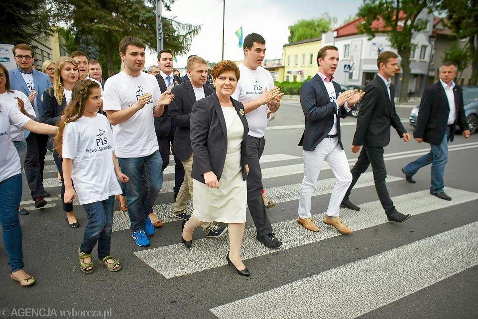Beata Szydło w Bełchatowie