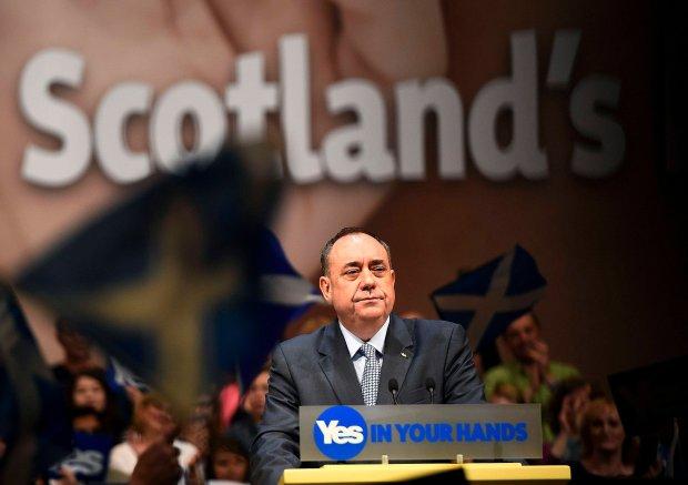 Premier Szkocji zapowiedzia� dymisj� po pora�ce referendum